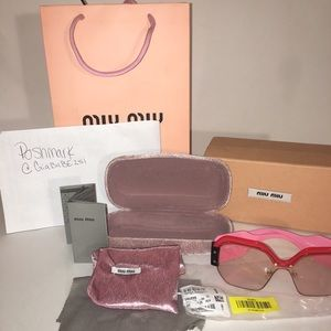 Women's Authentic miu miu sunglasses
